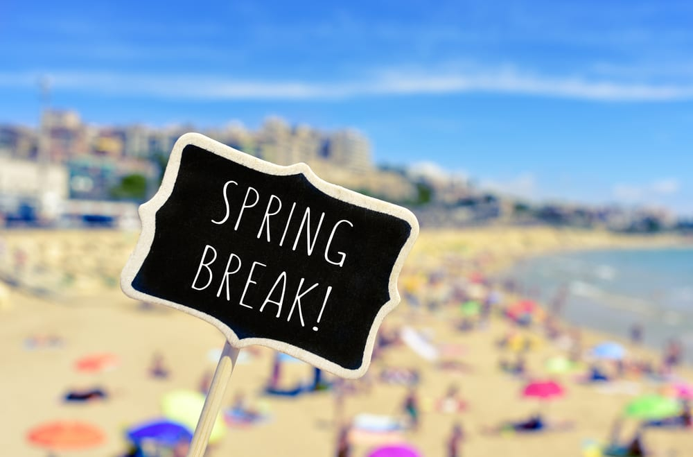Rent a motorcoach for Texas Spring Break Vacations