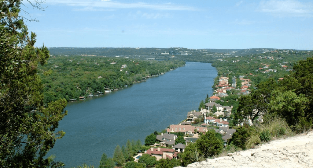 Mount Bonnell in Austin, Texas